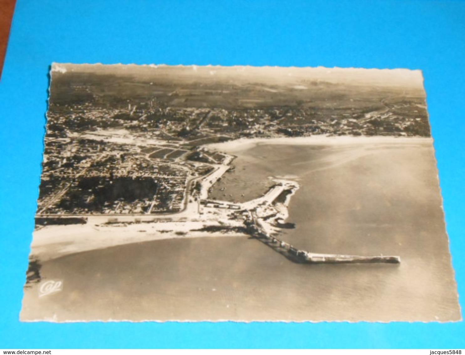 17 ) Royan Après Le Bombardement : N° 423 - Grand Format : Vue Aérienne  : Année 1945 - EDIT: Réal-photo - Royan