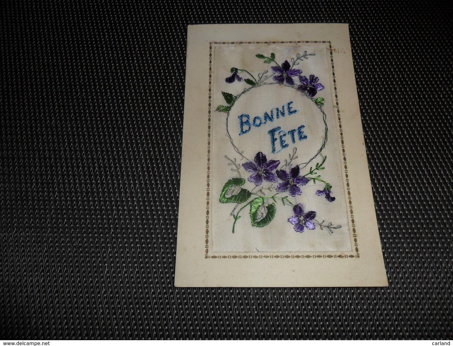 Carte Brodée ( 25 )  Geborduurde Kaart - Brodées