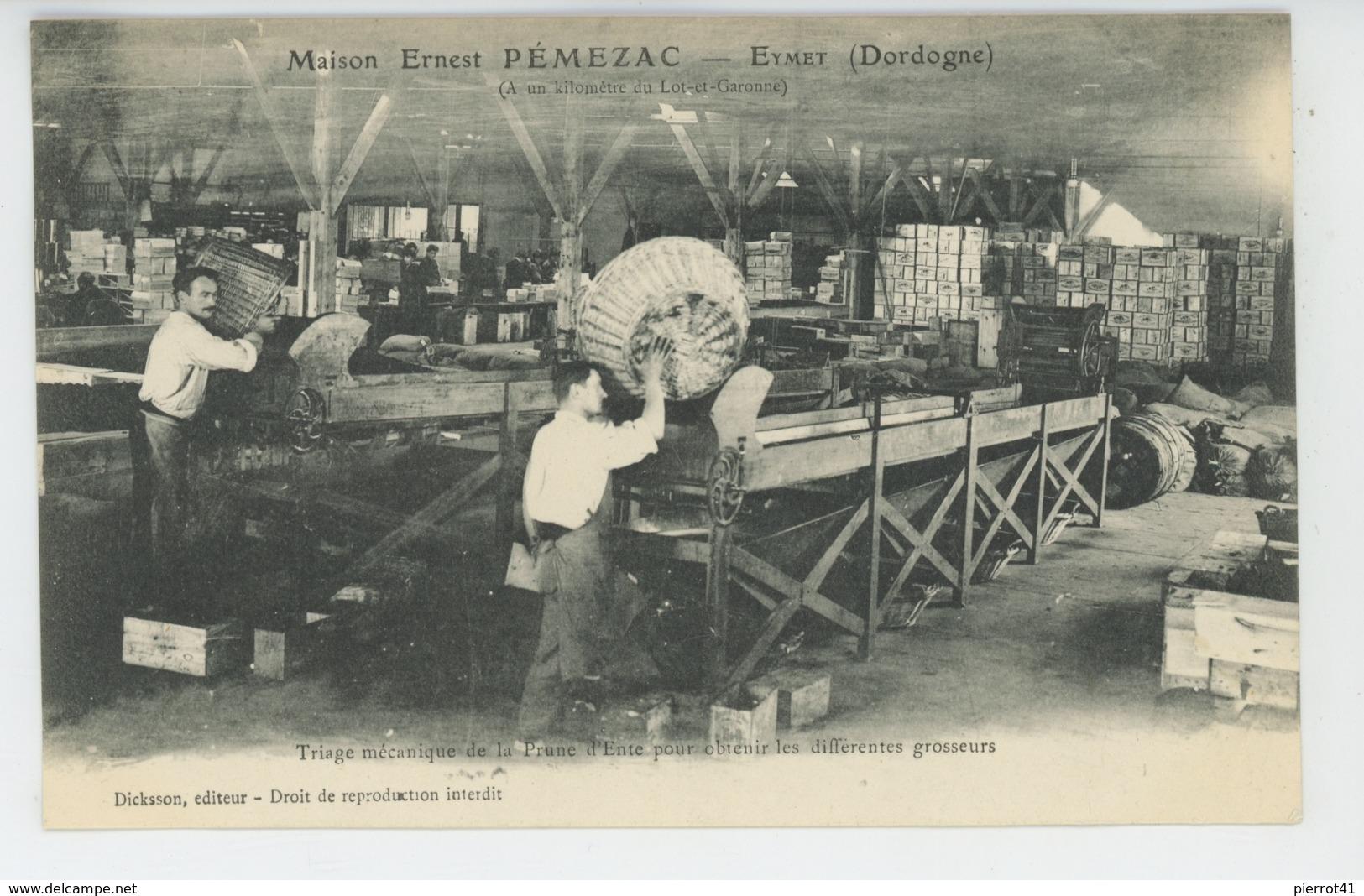 EYMET - Maison ERNEST PÉMEZAC - Triage Mécanique De La Prune D'Ente Pour Obtenir Les Différentes Grosseurs - France