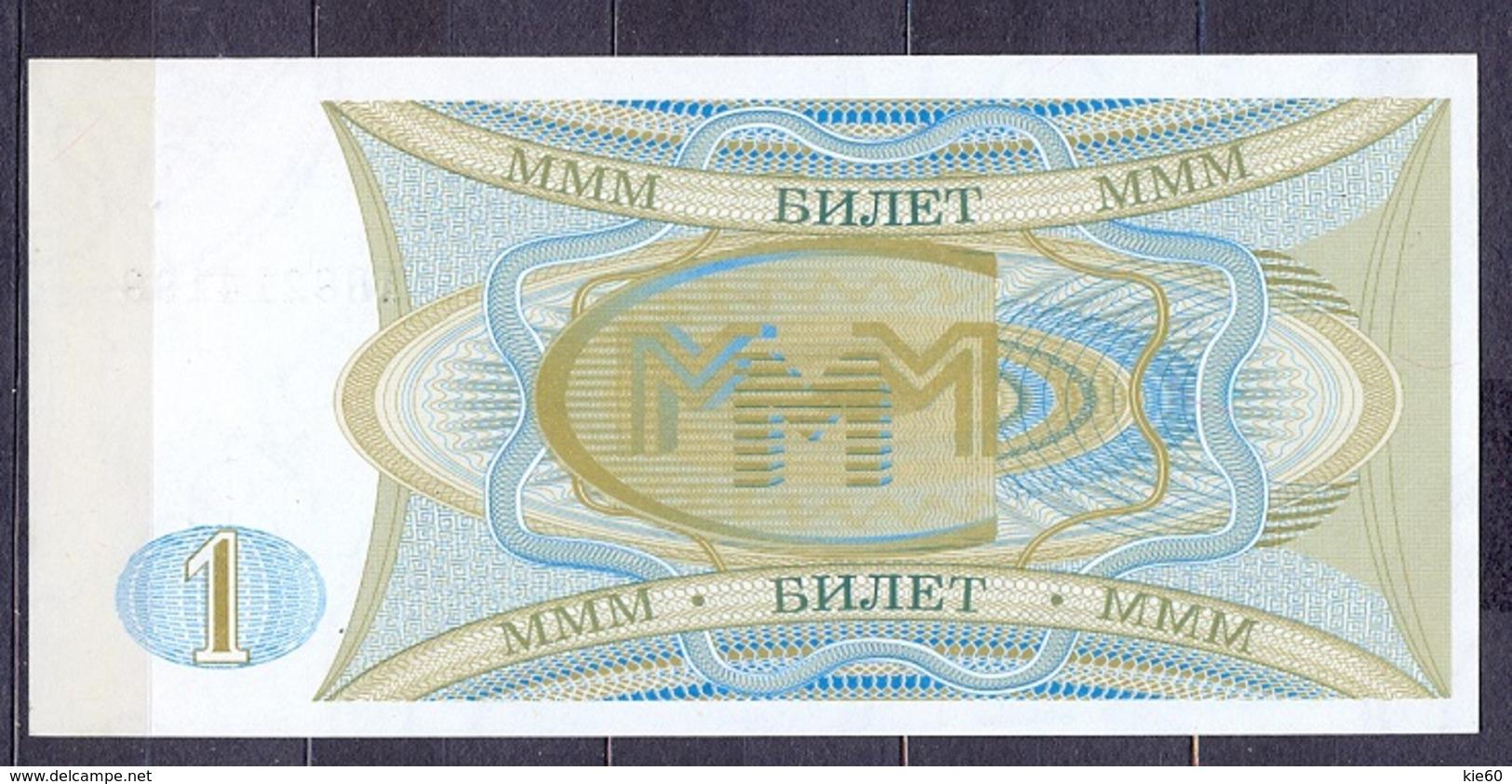 Russia - 1994 - Mavrodi - 1 Billet..UNC - Russie