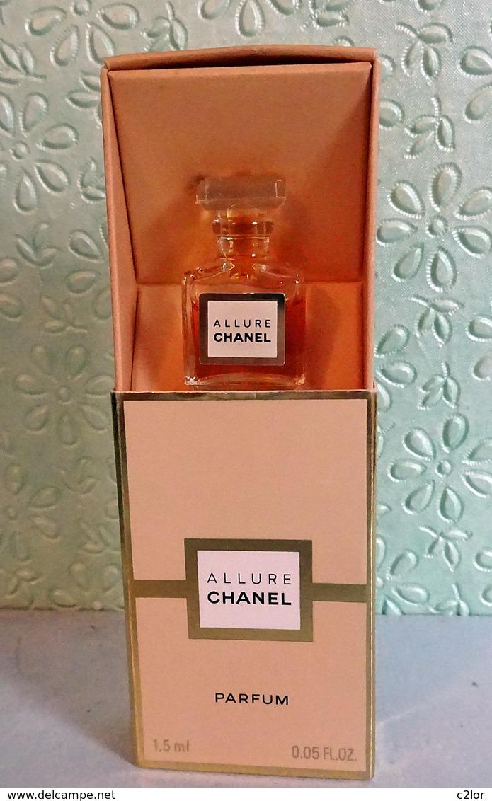 """Miniature """"ALLURE """" De CHANEL   Parfum  1,5 Ml Dans Sa Boite - Miniatures Modernes (à Partir De 1961)"""