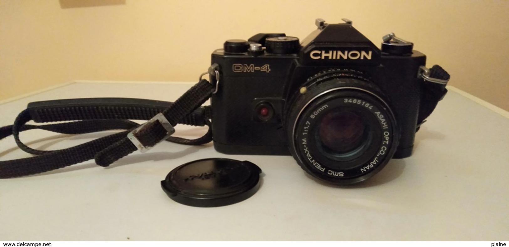 APPAREIL PHOTO CHINON -CM-04 - Appareils Photo