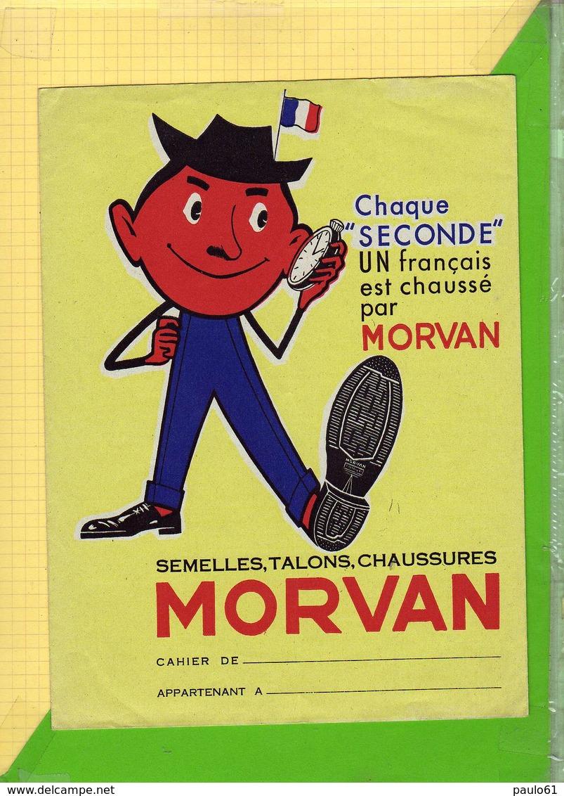 Protege Cahier : Semelles Talons Chaussures MORVAN - Protège-cahiers