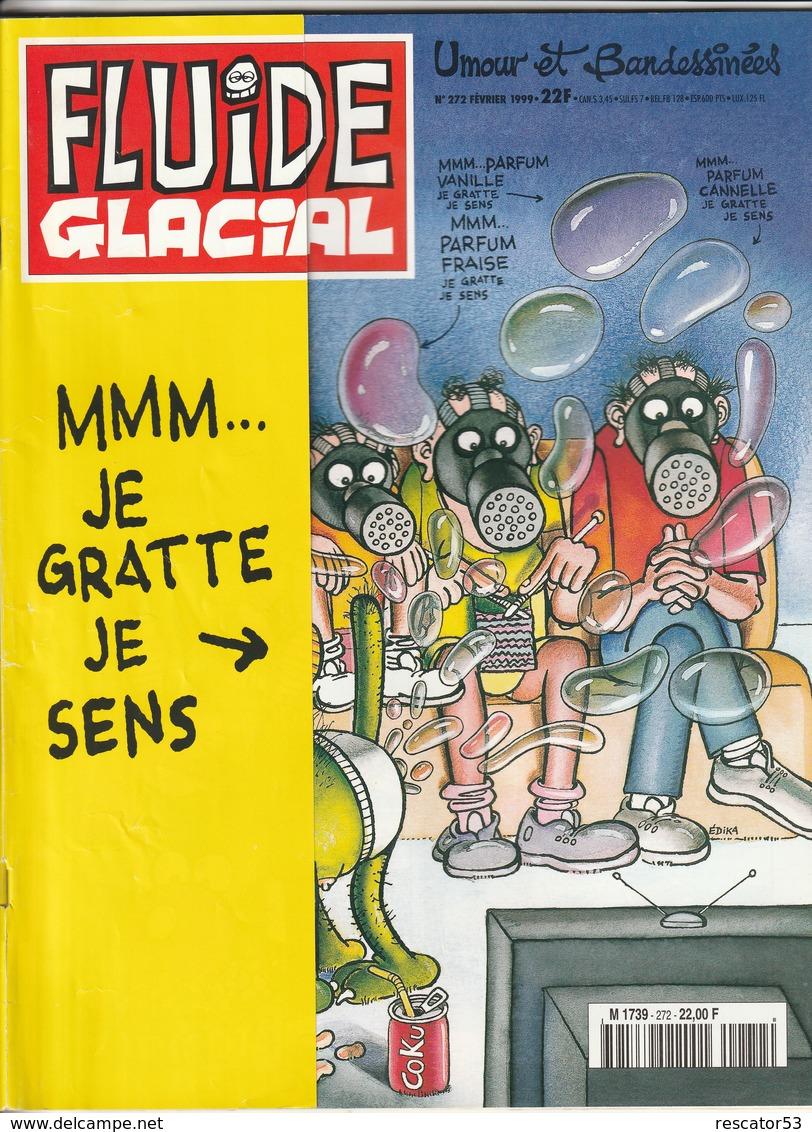 Rare Revue Fluide Glacial N°272 Février 1999 - Fluide Glacial