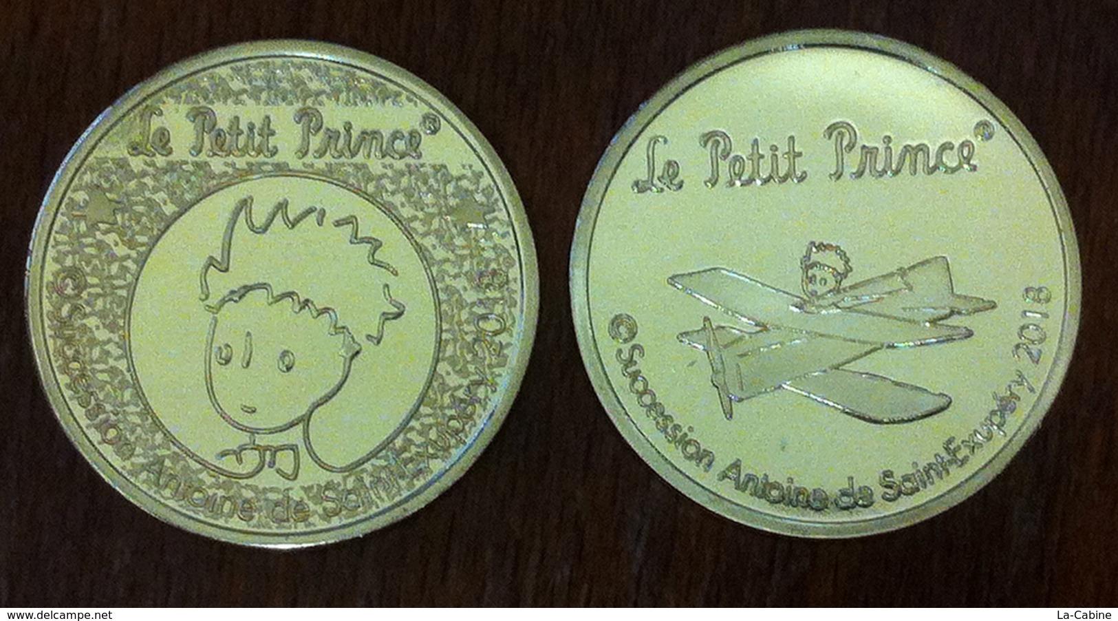 75 PARIS STORE LE PETIT PRINCE MÉDAILLE 2018 JETON MEDALS TOKENS COINS - Autres