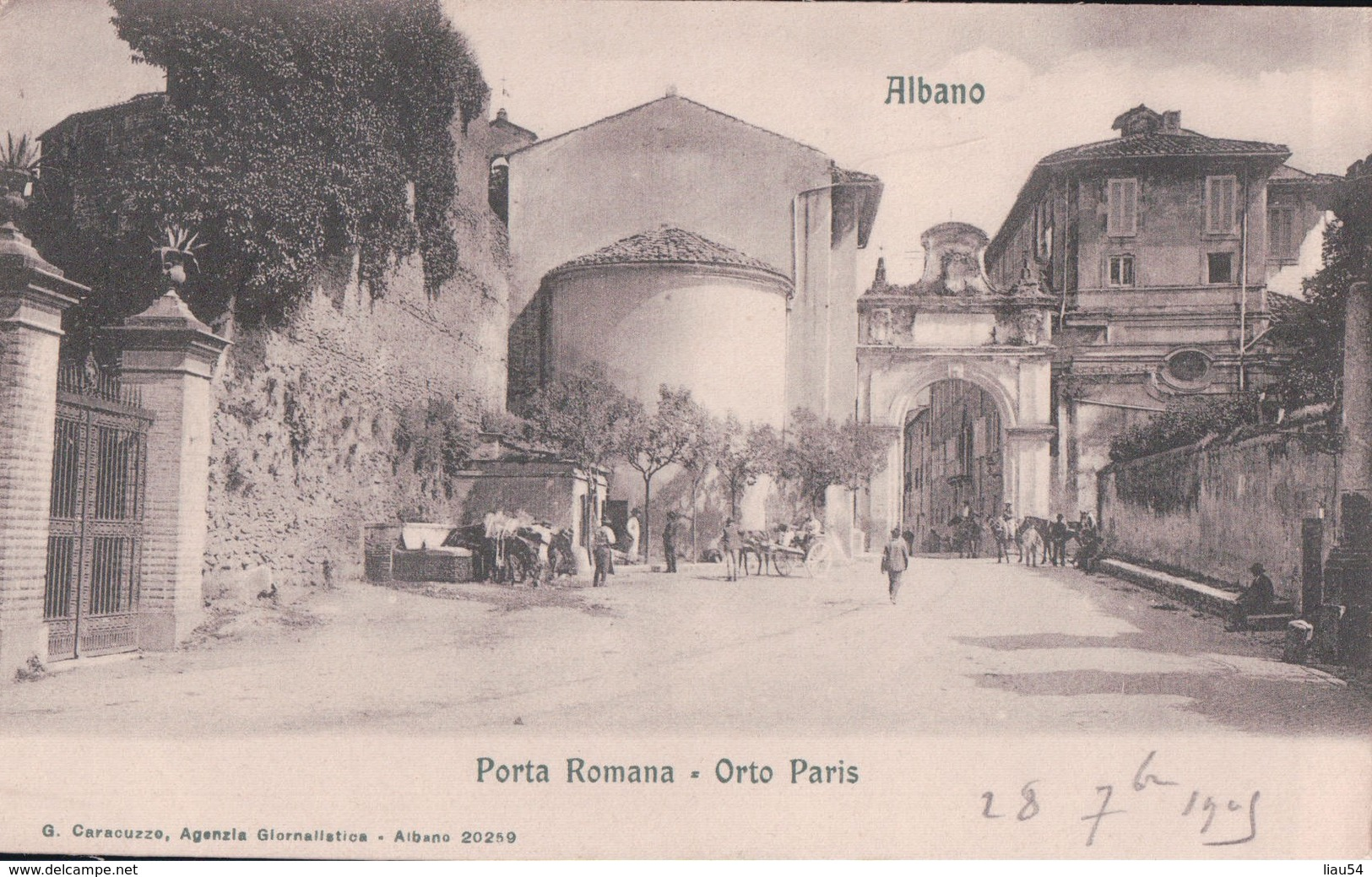 Albano Porta Romana Orto Paris - Autres Villes
