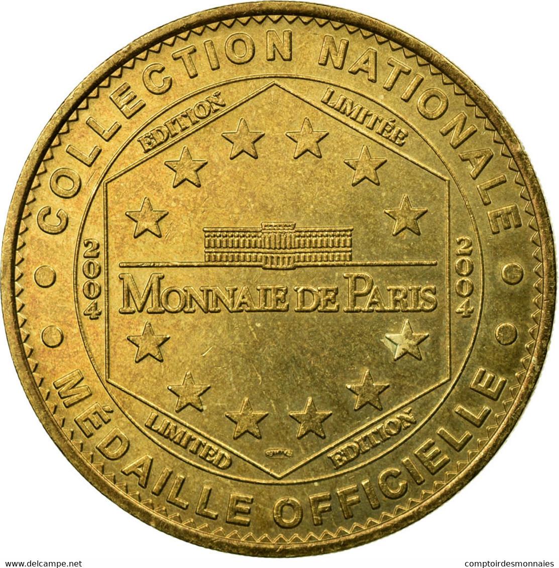 France, Jeton, Orcines - Eglise Romane, 2004, MDP, TTB, Cupro-nickel Aluminium - France