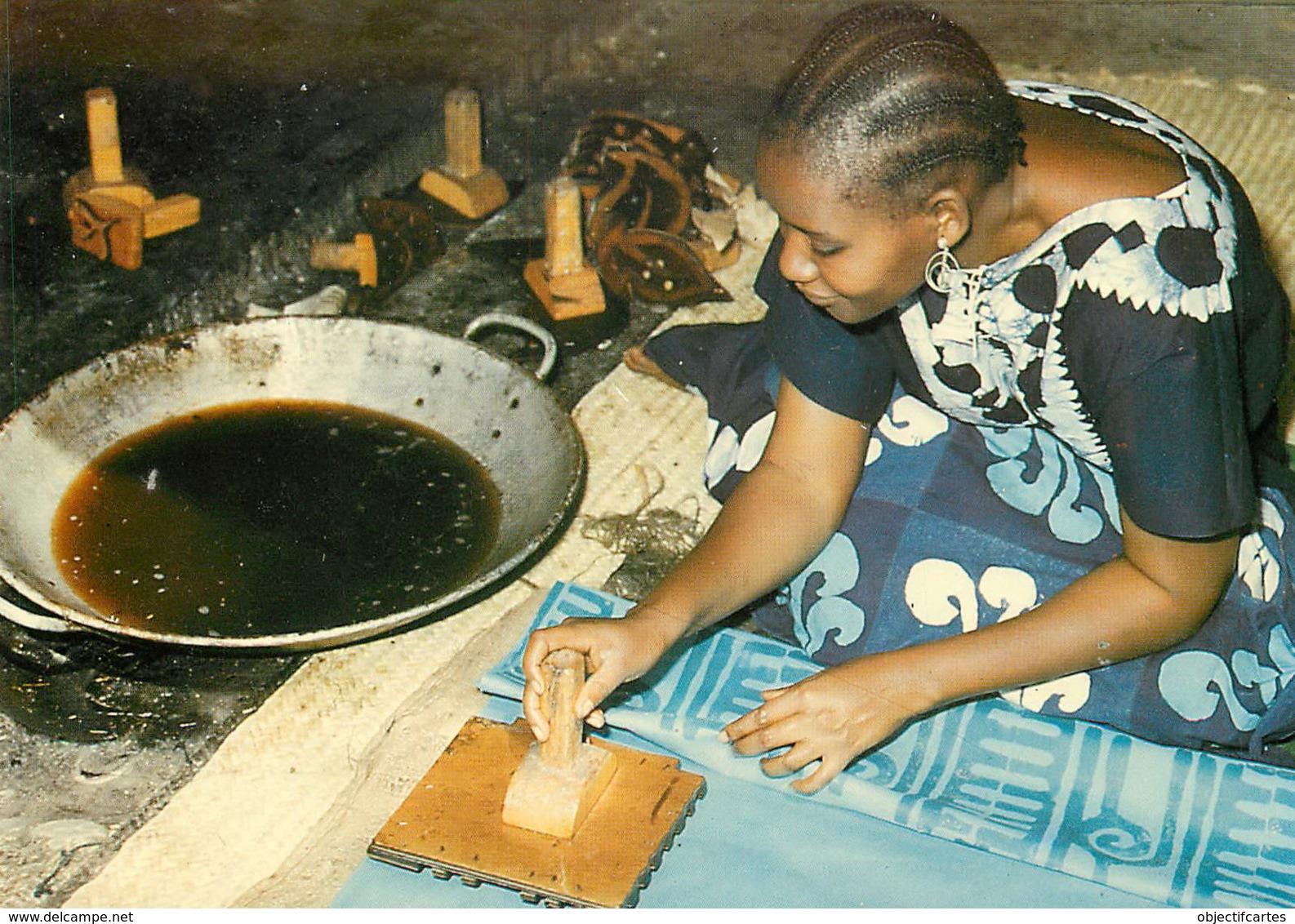 BURKINA FASO   Fabrication Des  Pagnes à GAOUA PONI POUGOULIS  33 (scan Recto-verso) KEVREN640 - Burkina Faso