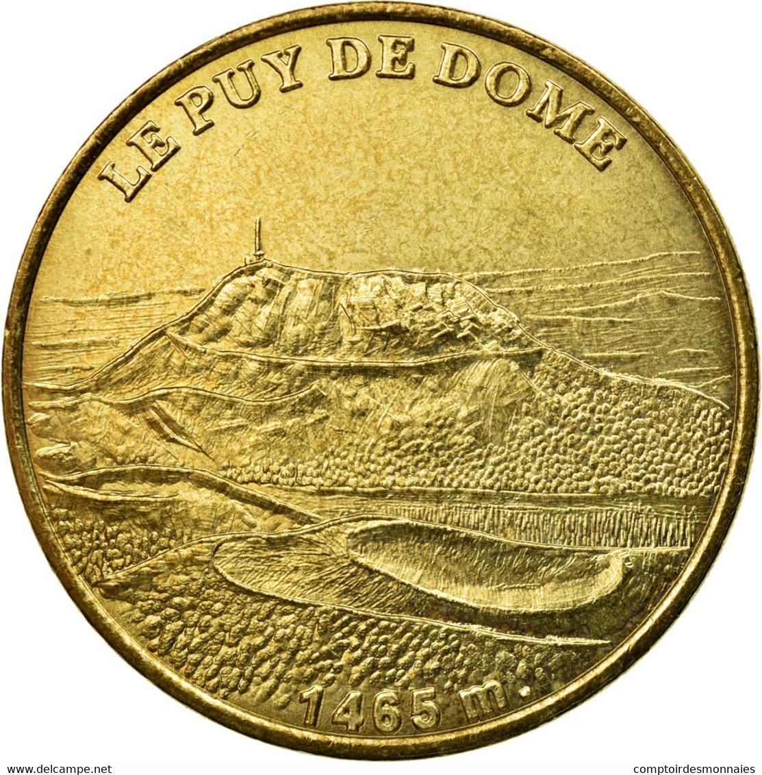 France, Jeton, Clermont-ferrand -  Le Puy De Dôme N°2, 2005, MDP, TTB - France