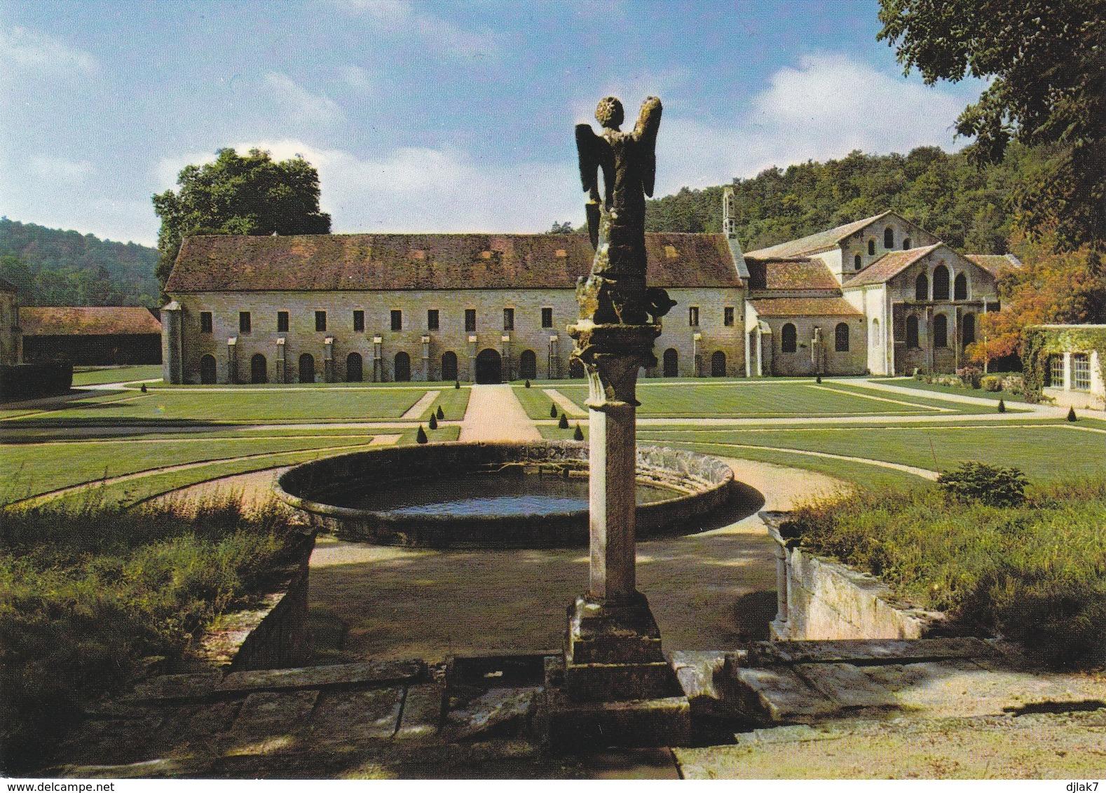 21 Abbaye De Fontenay Le Jardin Des Simples (2 Scans) - France