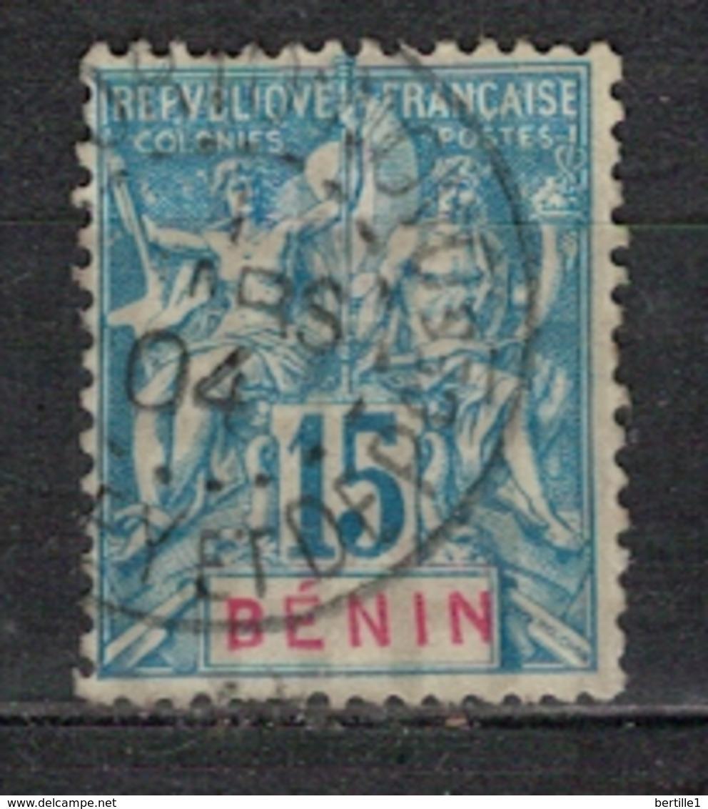 BENIN           N°  YVERT      38             OBLITERE       ( O   2/56 ) - Bénin (1892-1894)