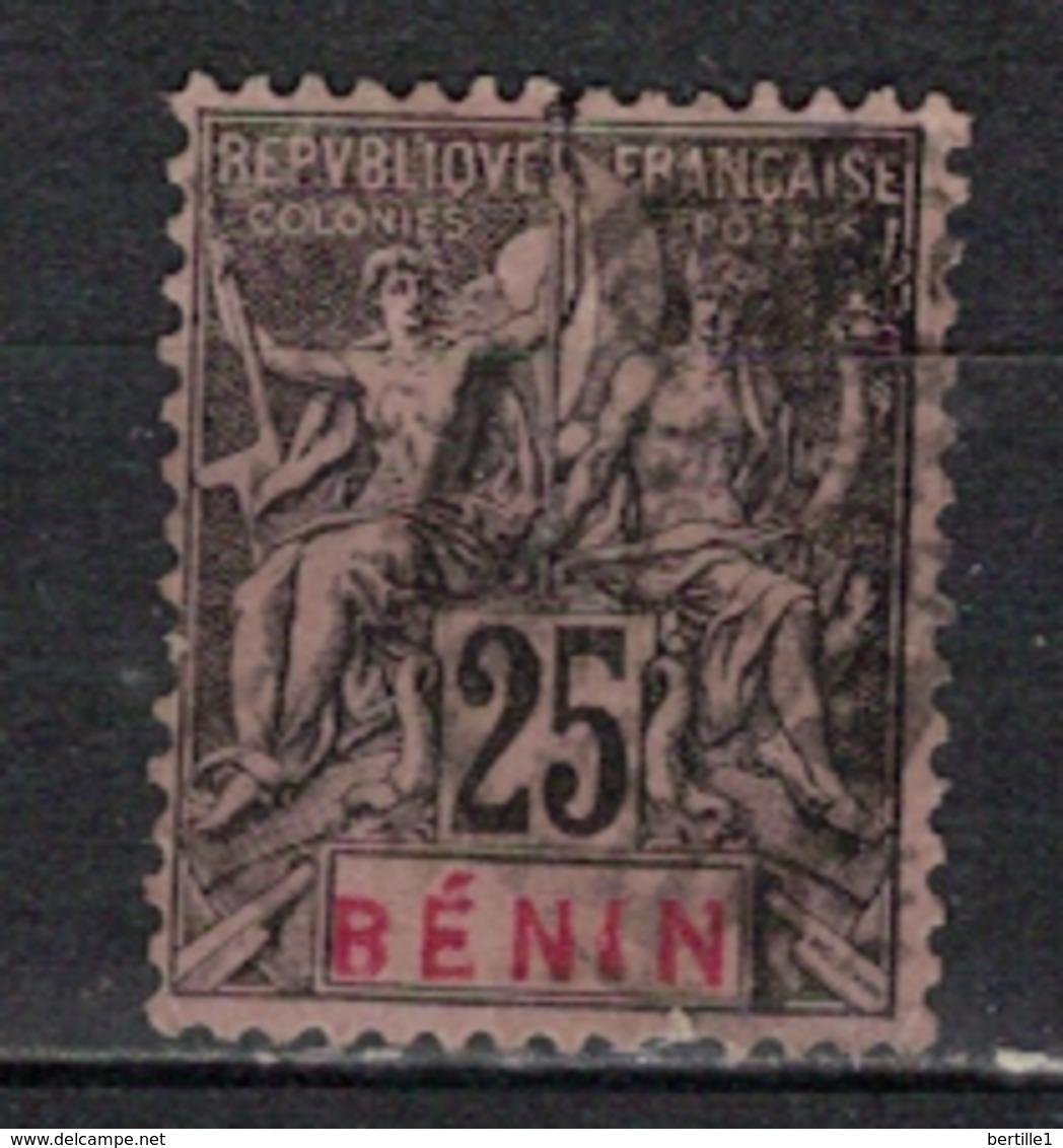 BENIN           N°  YVERT      40           OBLITERE       ( O   2/57 ) - Bénin (1892-1894)