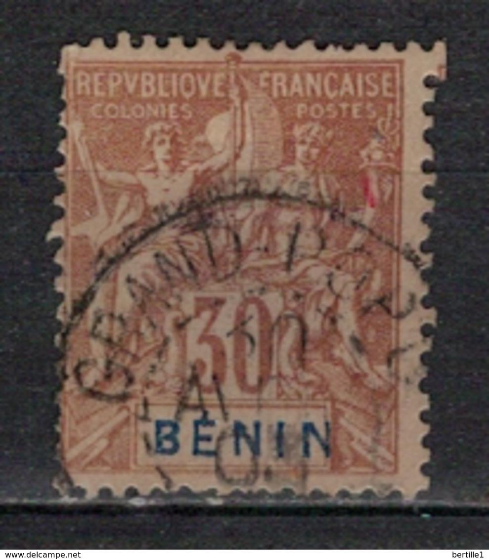 BENIN           N°  YVERT      41           OBLITERE       ( O   2/58 ) - Bénin (1892-1894)