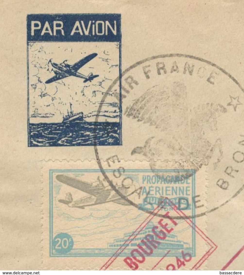 14333 - Vol BRON LE BOURGET - Poste Aérienne