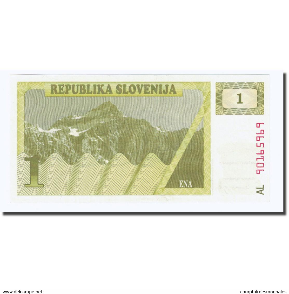 Billet, Slovénie, 1 (Tolar), Undated (1990), KM:1a, NEUF - Slovénie