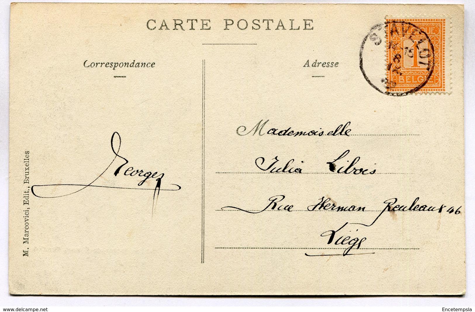 CPA - Carte Postale - Belgique - Stavelot - Route De Malmédy - 1912 (M7430) - Stavelot