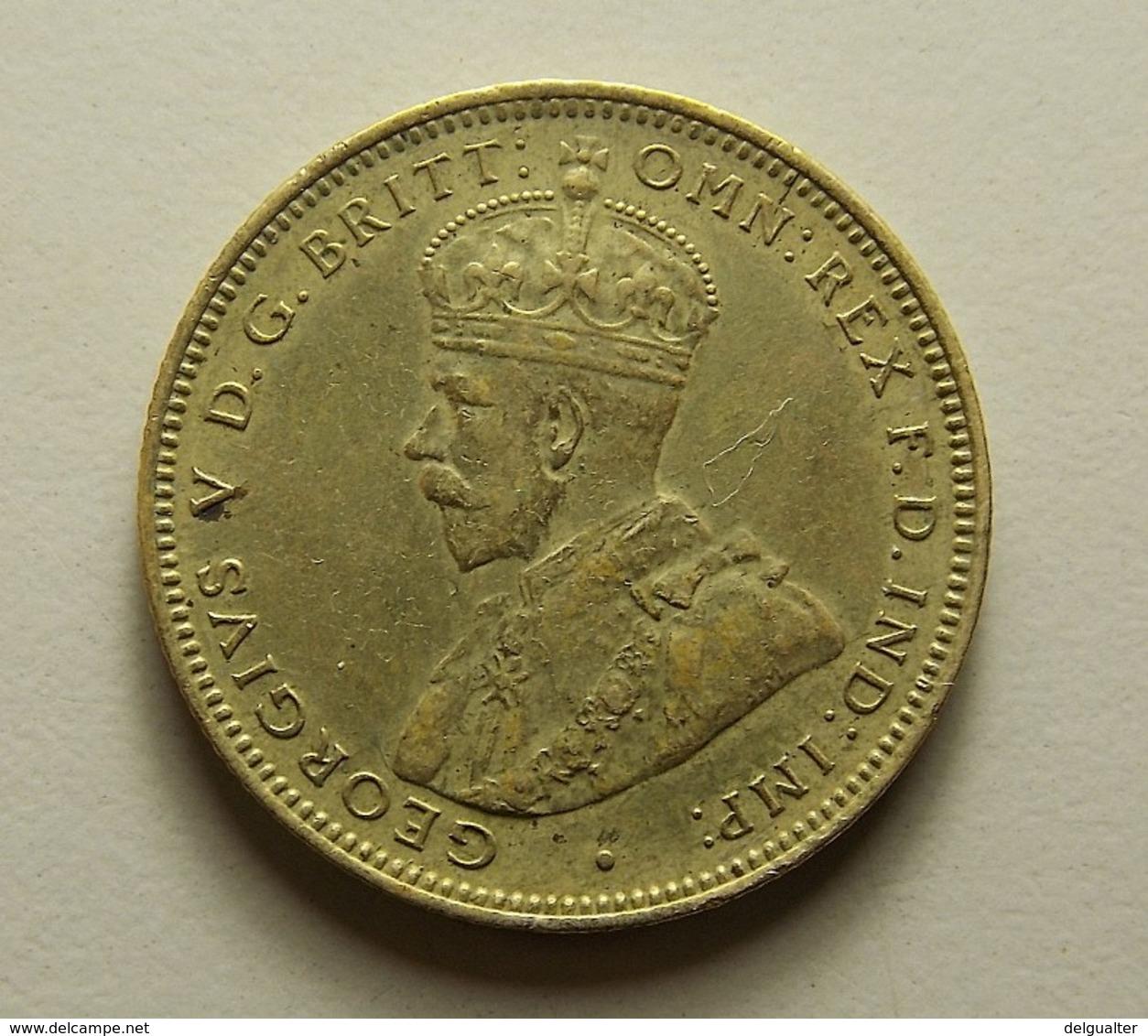 British West Africa 1 Shilling 1923 H - Monnaies