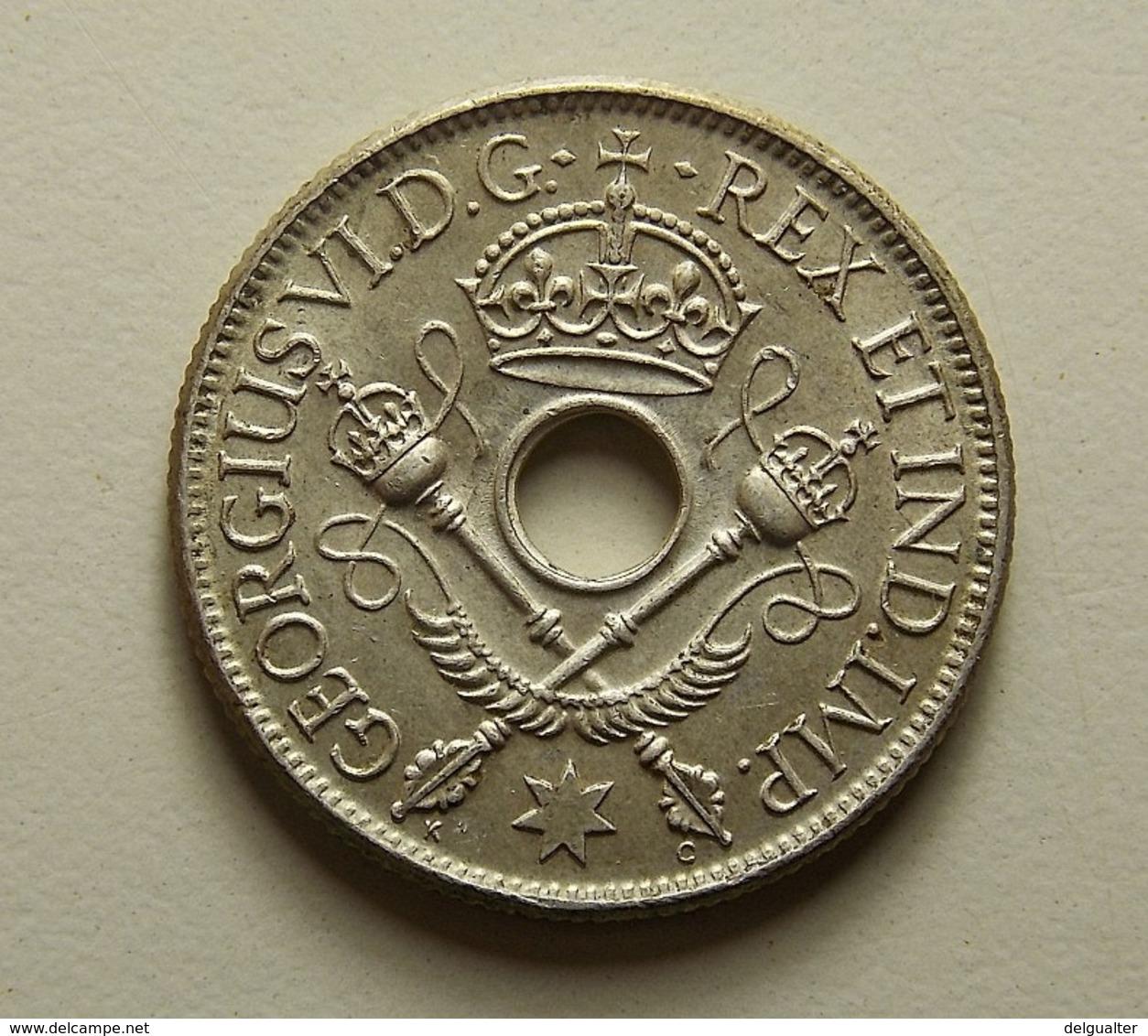 New Guinea 1 Shilling 1938 Silver - Monnaies
