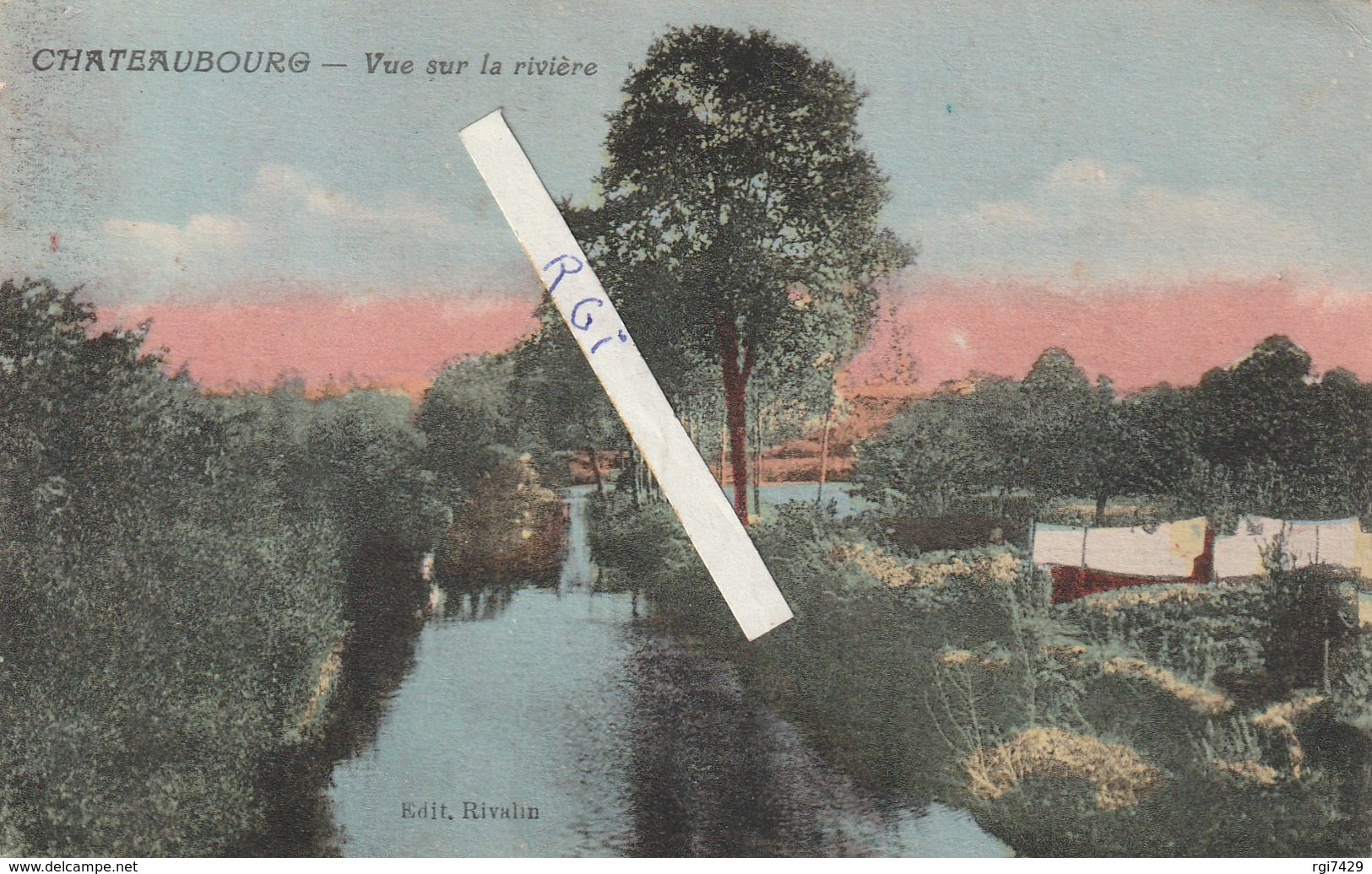 Chateaubourg---la Riviere - France