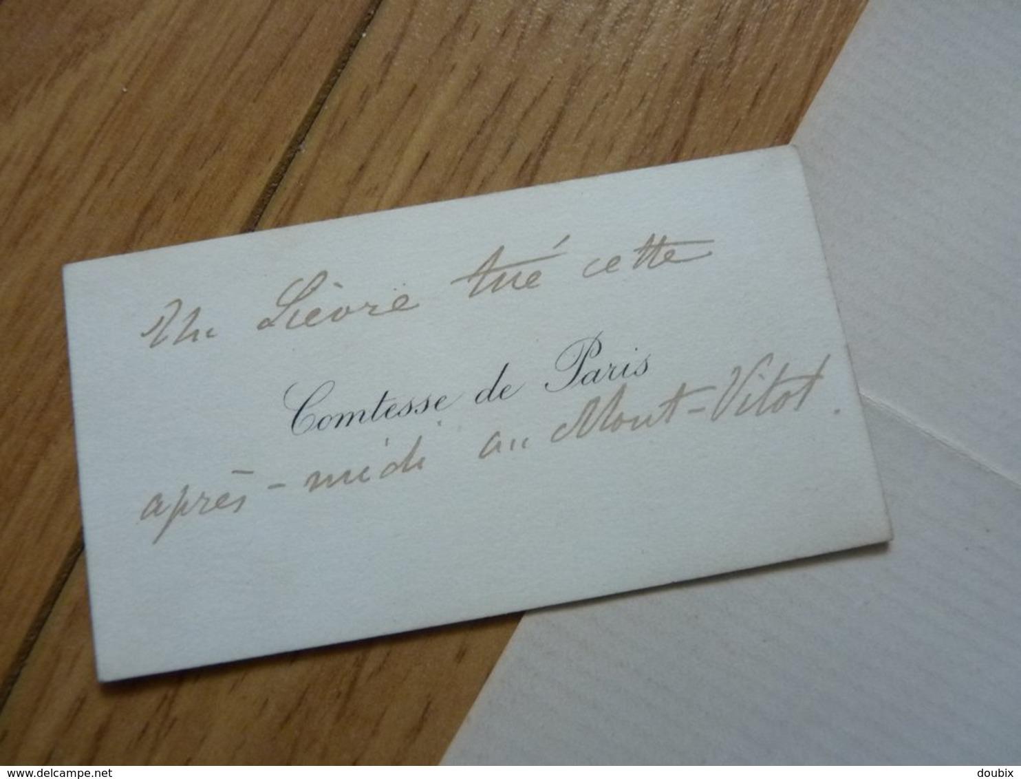 LOUIS PHILIPPE D'ORLÉANS (1838-1894) Comte De Paris. Petit Fils ROI Louis Philippe. AUTOGRAPHE - Autographes