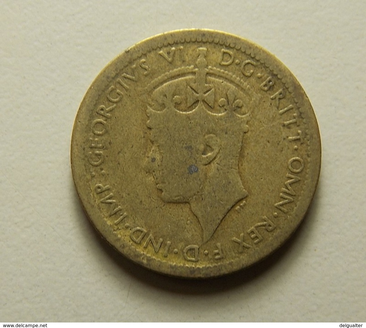 British West Africa 6 Pence 1940 - Monnaies