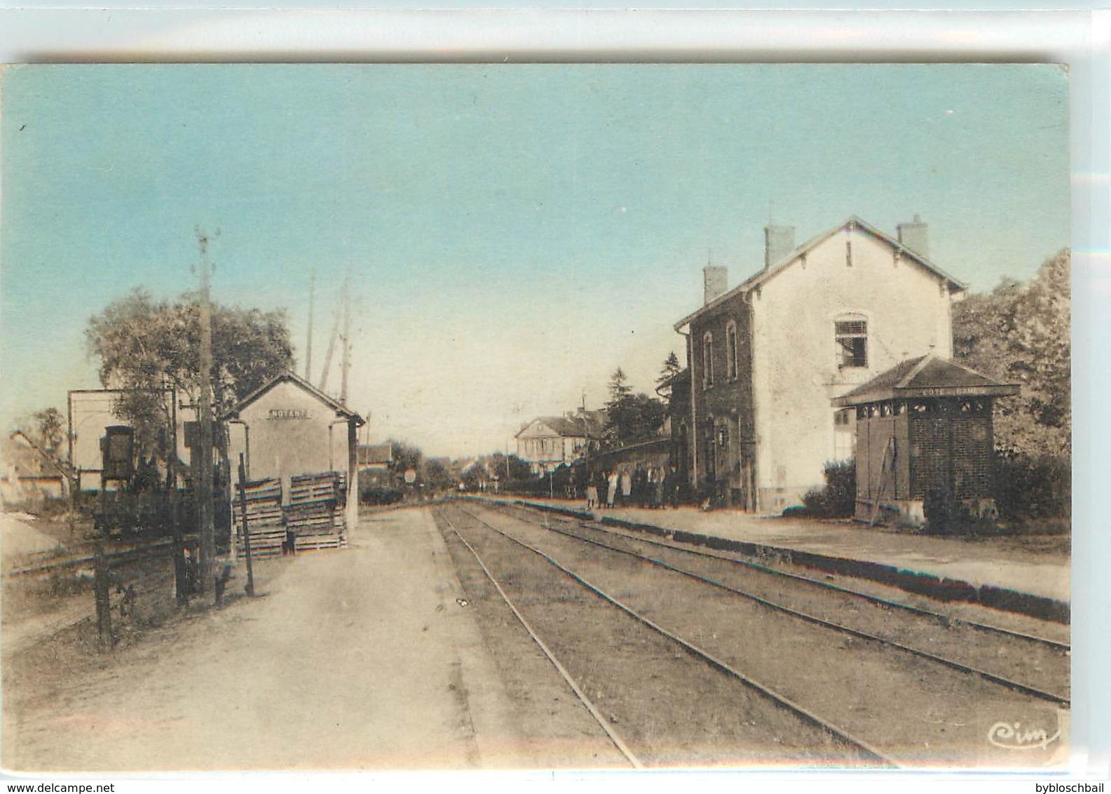 CPSM 03 Allier Noyant La Gare - Autres Communes