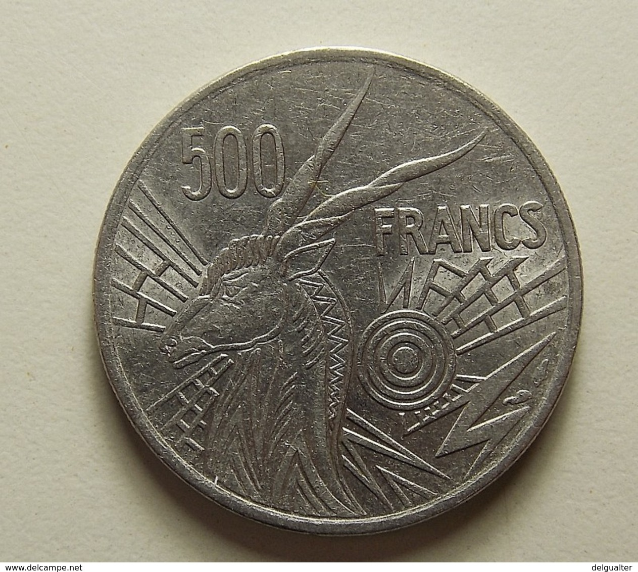 Central African States 500 Francs 1977 A - Monnaies