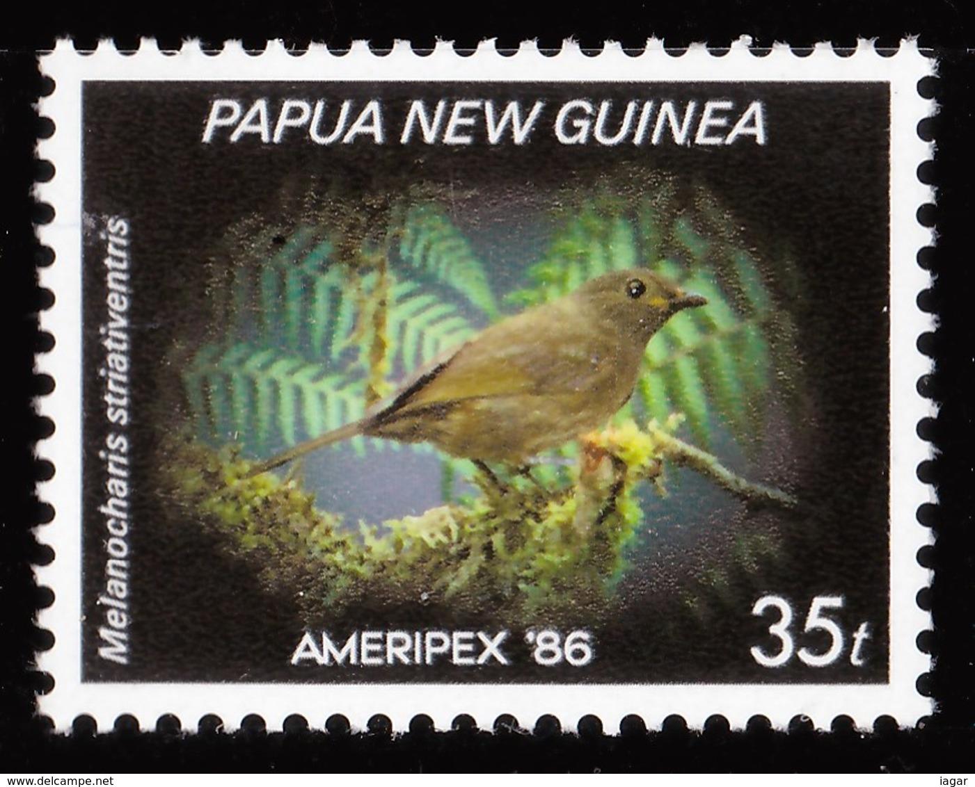 PAPUA & NUOVA GUINEA 1986 UCCELLI - Papua Nuova Guinea