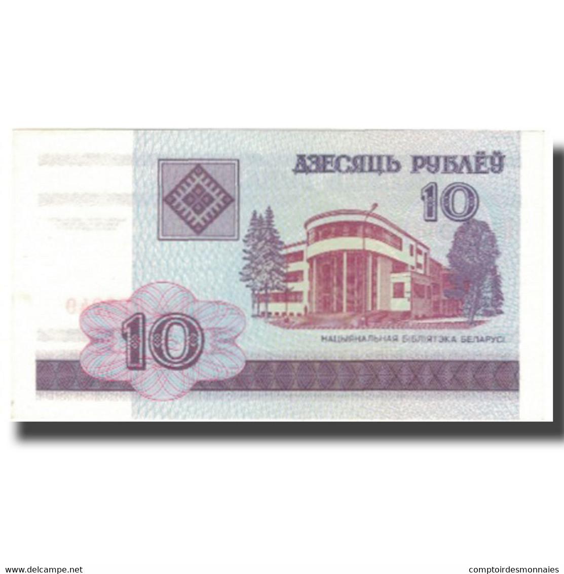 Billet, Bélarus, 10 Rublei, 2000, 2000, KM:23, SUP - Russie