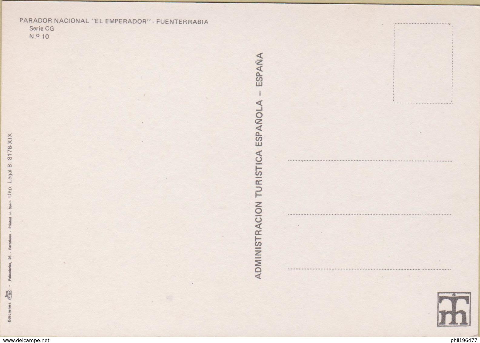 """Fuenterrabia - Cpm / Parador Nacional """"El Emperador"""". - Autres"""