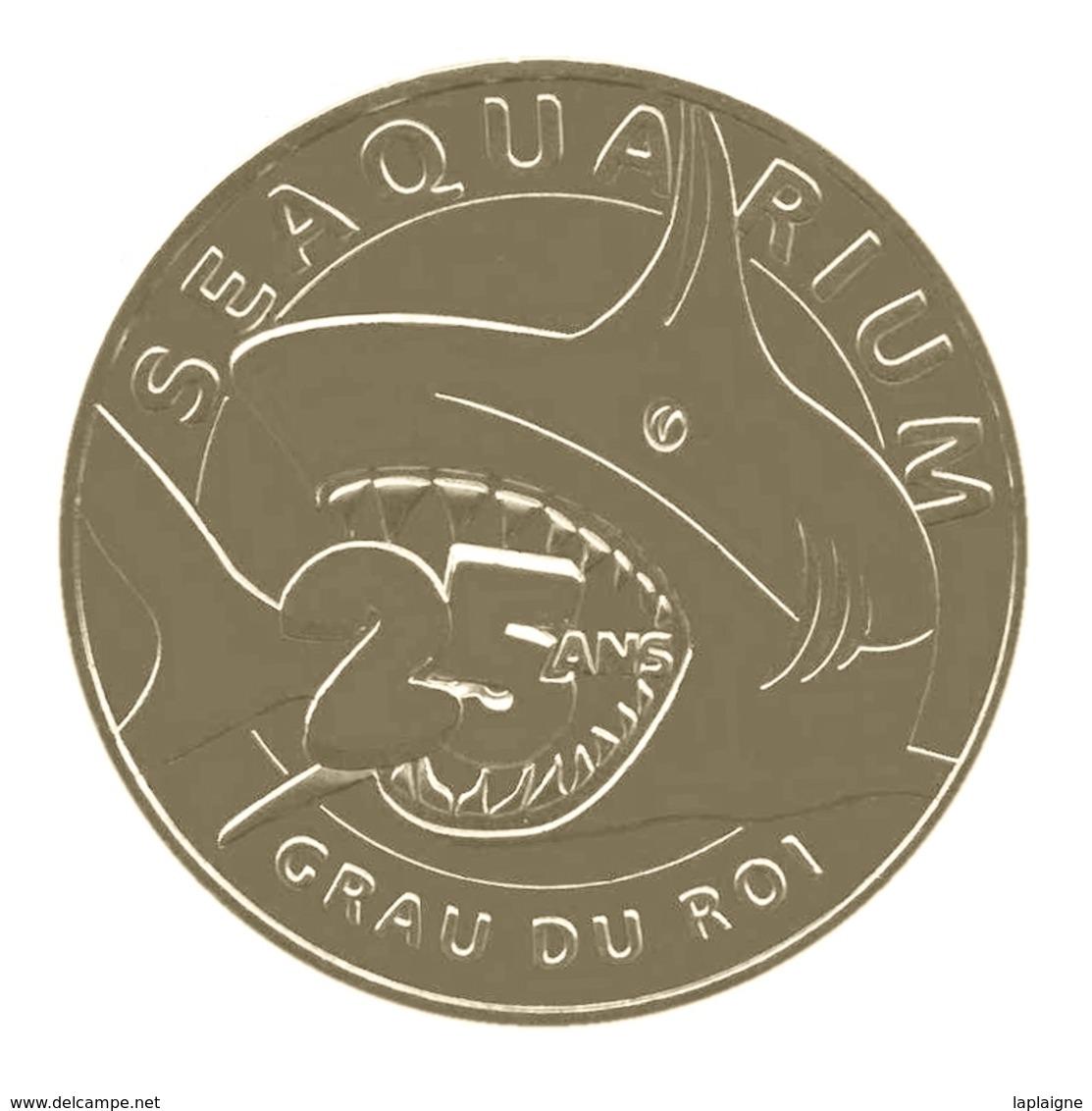 Monnaie De Paris , 2015 , Grau-Du-Roi , Seaquarium , 25 Ans - Monnaie De Paris