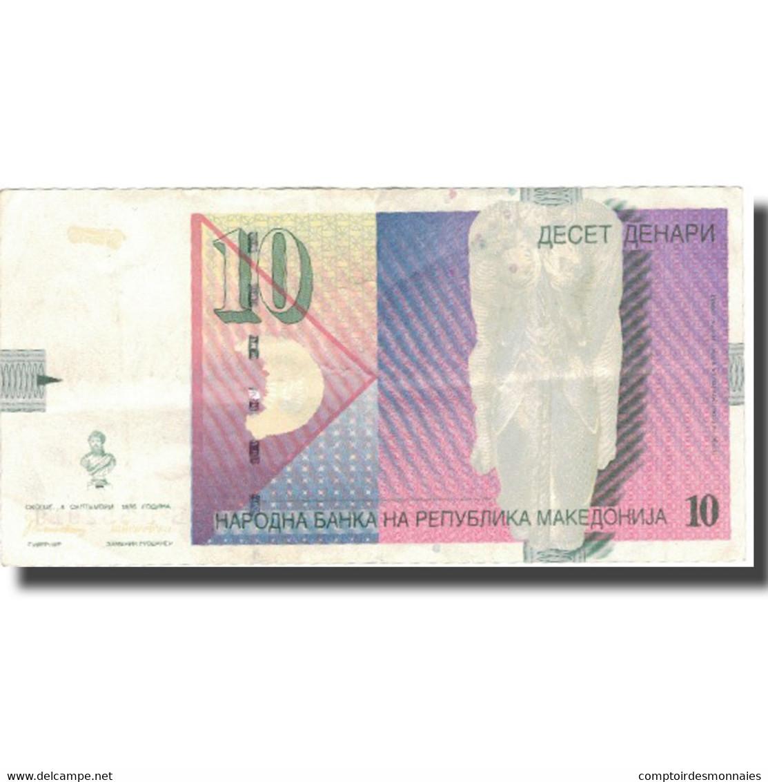 Billet, Macédoine, 10 Denari, 1996, 1996-09-08, KM:14A, TTB - Macédoine