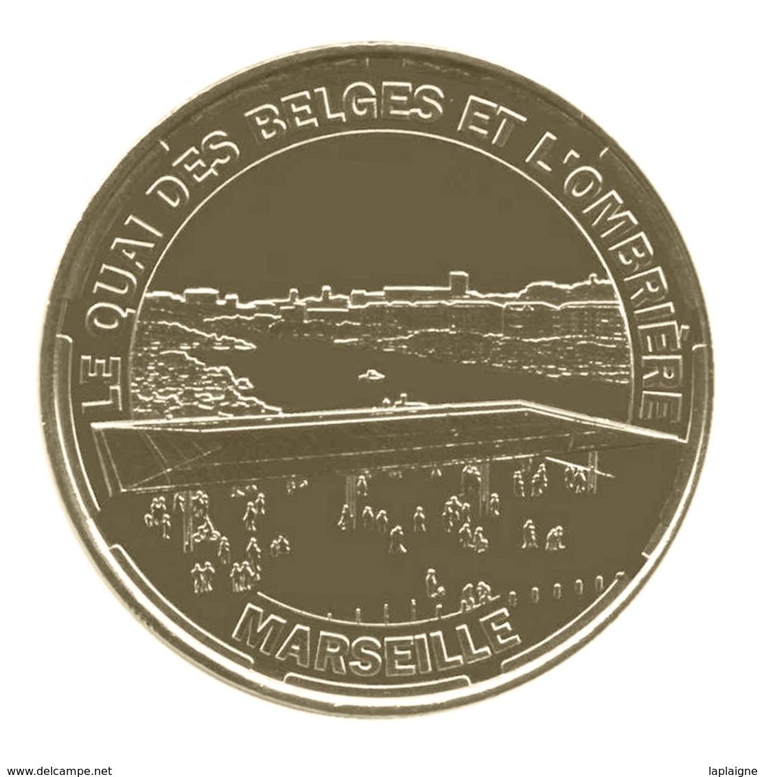 Monnaie De Paris , 2014 , Marseille , Le Quai Des Belges Et L'ombrière - Monnaie De Paris