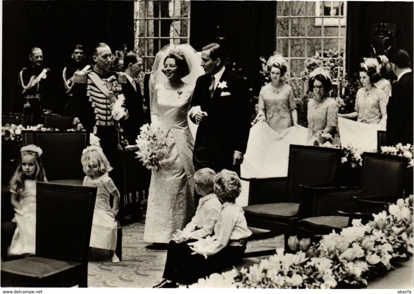 CPM HKH Prinses Beatrix En ZKH Prins Claus DUTCH ROYALTY (820964) - Familles Royales