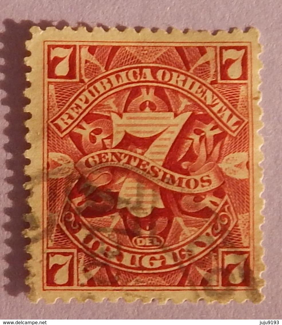 URUGUAY YT 148 OBLITERE  ANNEE 1899/1908 - Uruguay