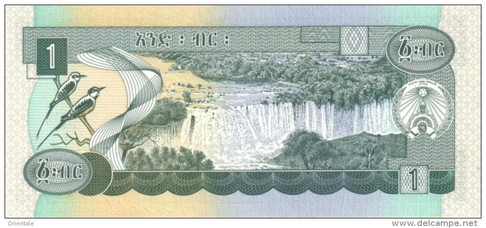 ETHIOPIA P. 41a 1 B 1976 AUNC - Ethiopie