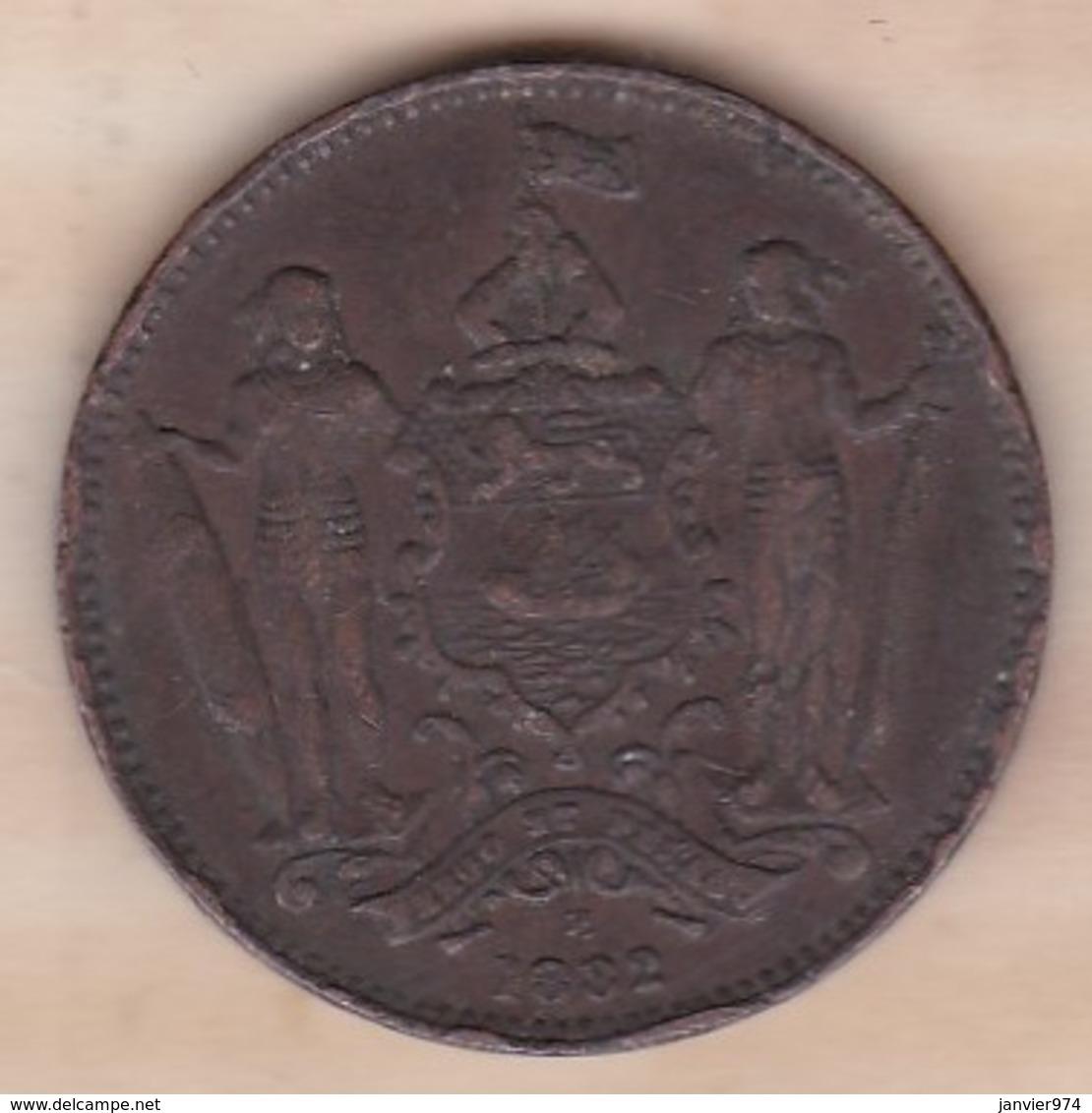 BRITISH NORTH BORNEO. ONE CENT 1882 H . VICTORIA. KM# 2 - Malaysie