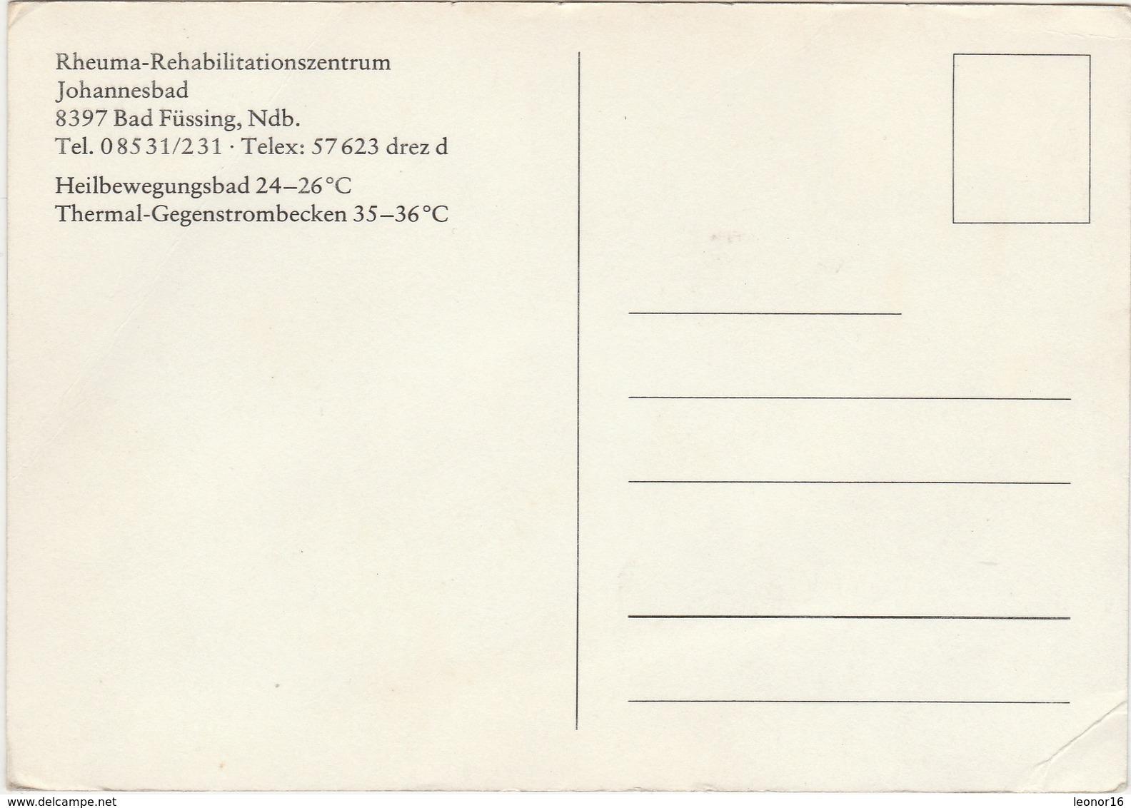 BAD FÜSSING  -   JOHANNESBAD - HEILBEWEGUNGSBAD 24 - 26° - Füssen