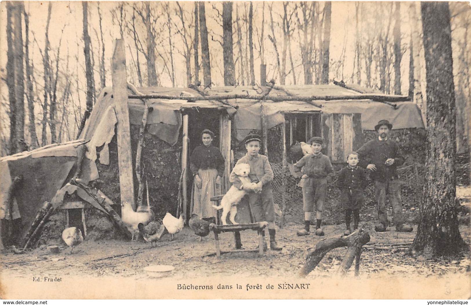 91 - Essonne / Forêt De Sénart - 911842 - Bûcherons - Beau Cliché Animé - France