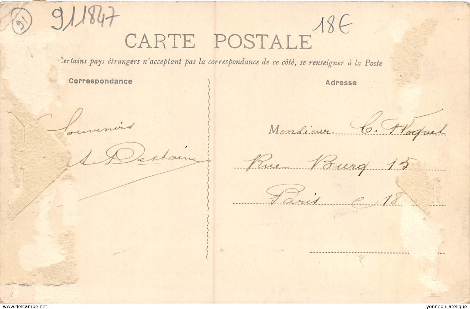 91 - Essonne / Forêt De Sénart - 911847 - Cabane De Bûcherons - Beau Cliché Animé - Défaut Au Verso - France