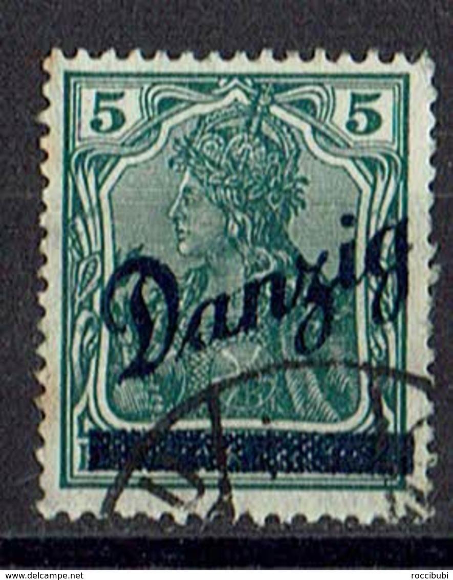Danzig 1920 // Mi. 21 O - Danzig