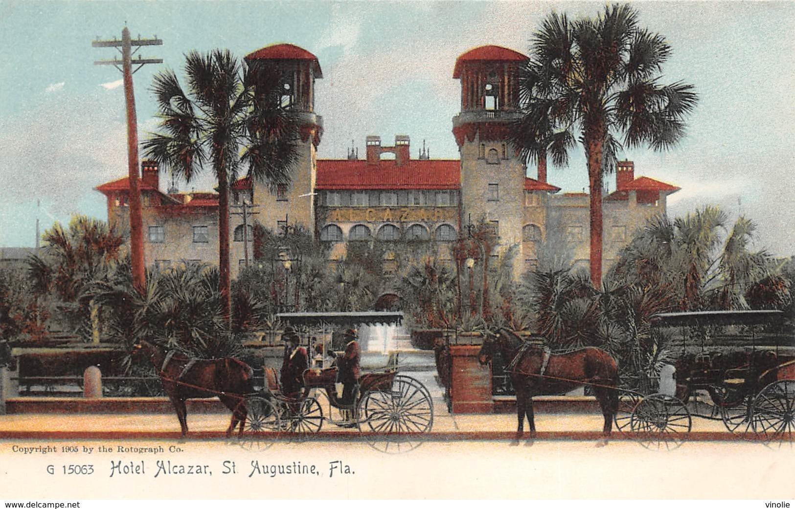 A-19-2513 : SAINT AUGUSTINE.  HOTEL  ALCAZAR. - St Augustine