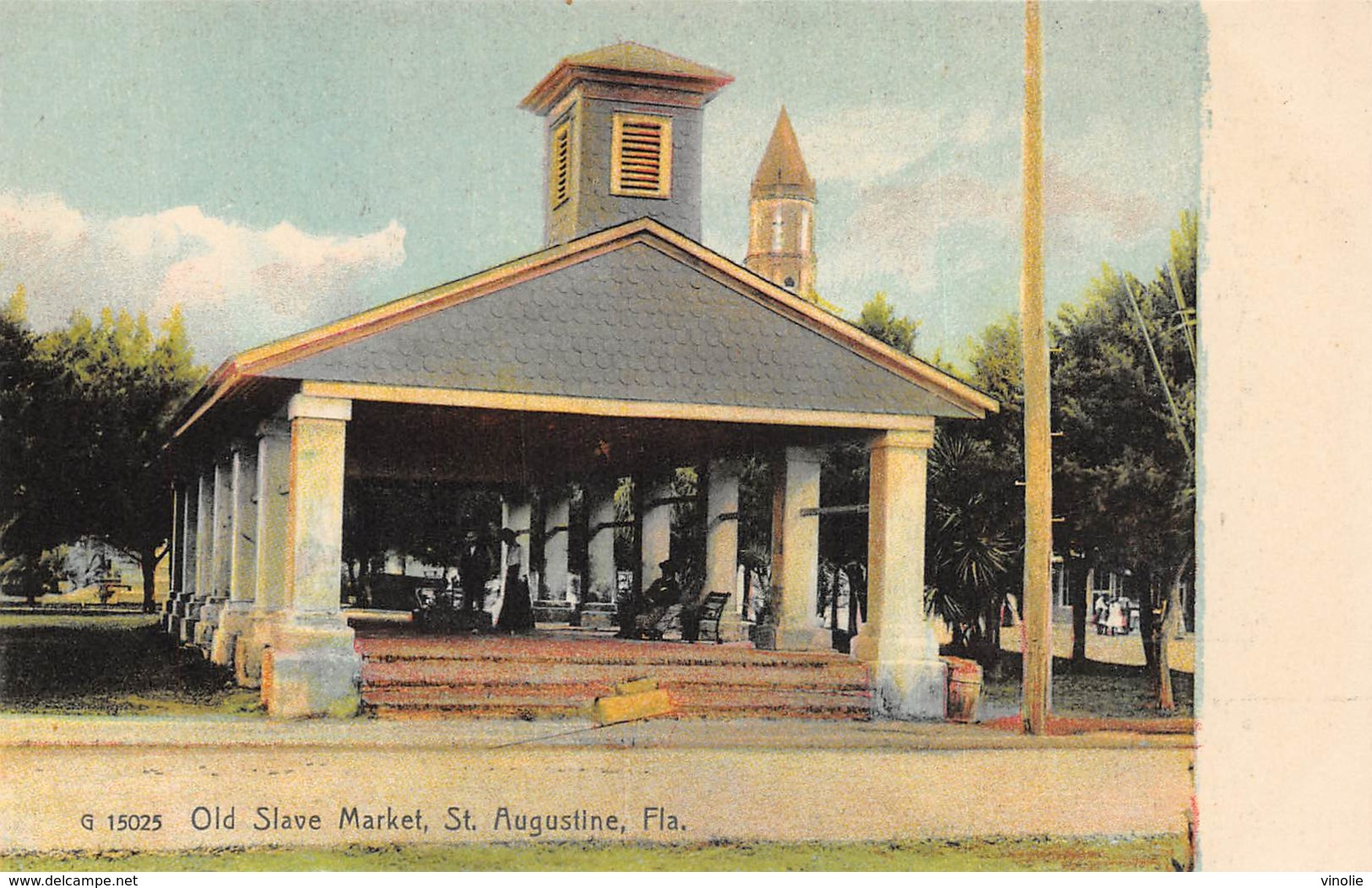 A-19-2514 : SAINT AUGUSTINE.  OLD MARKET. - St Augustine