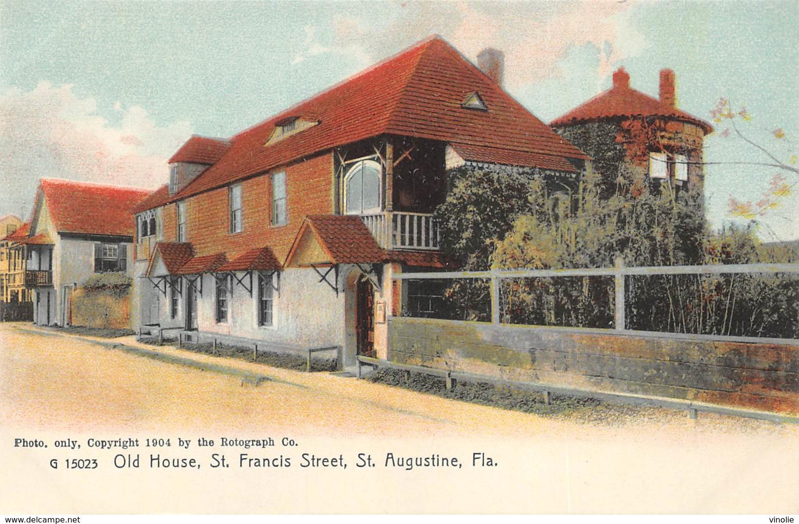 A-19-2517 : SAINT AUGUSTINE.  OLD HOUSE. SAINT FRANCIS STREET. - St Augustine