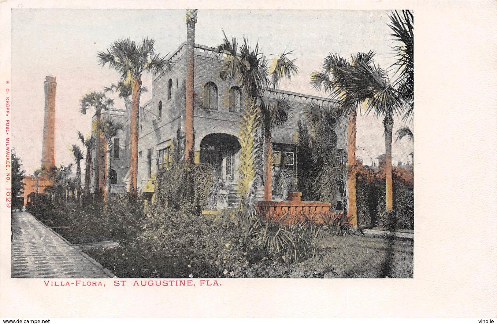 A-19-2522 : SAINT AUGUSTINE.  VILLA FLORA. - St Augustine