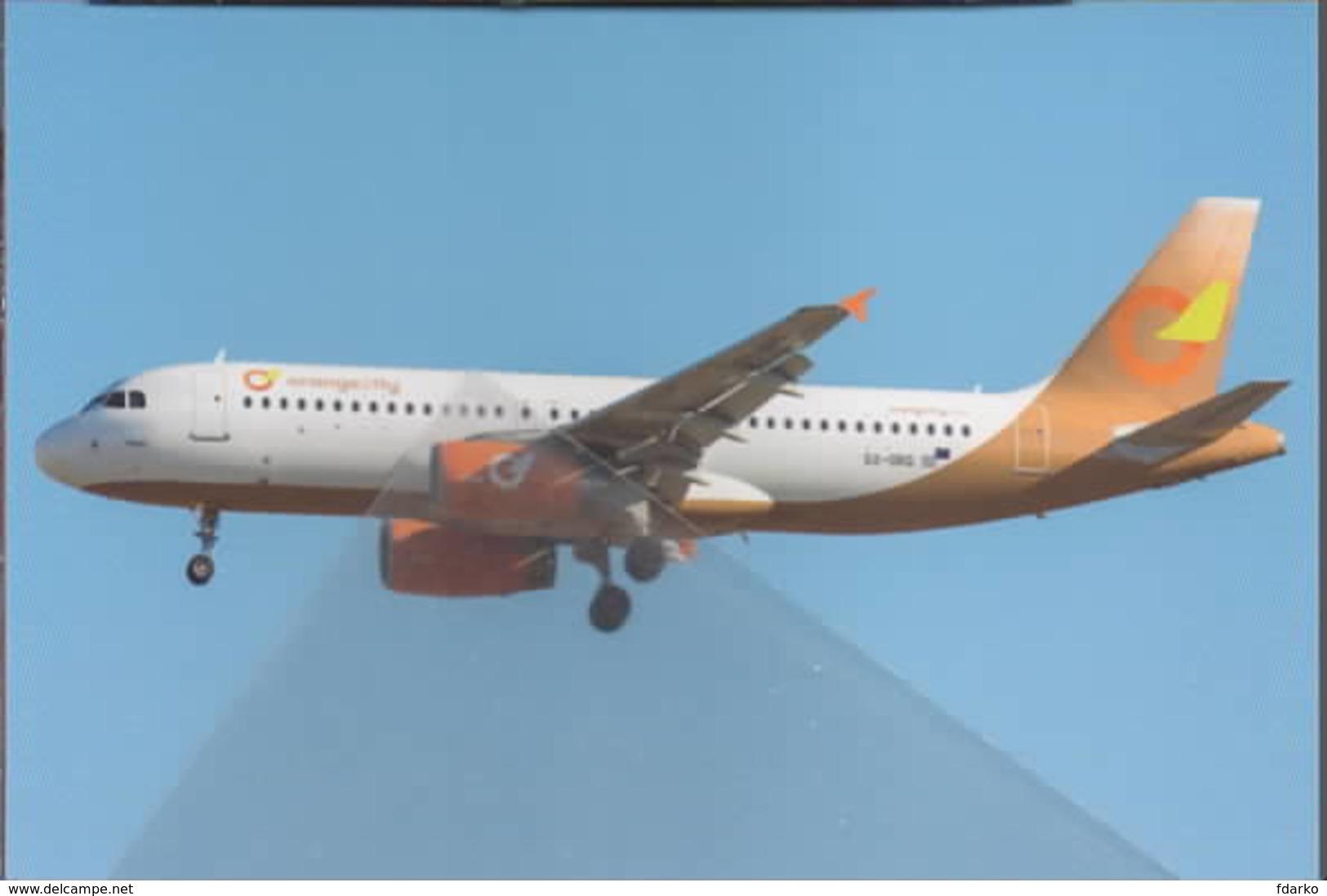 Orange Fly2  Airbus Grecia A320-232 SX-ORG At PMI A.320 - 1946-....: Era Moderna