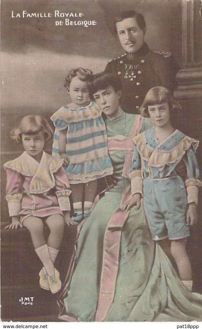 FAMILLES ROYALES Royal Families ( BELGIQUE ) La FAMILLE ROYALE De BELGIQUE - CPA Königliche Familien Koninklijke - Familles Royales