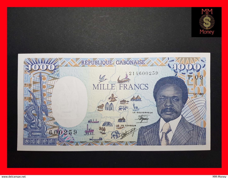 GABON 1.000 Francs  1.1.1990  P. 10 A  UNC - Gabon