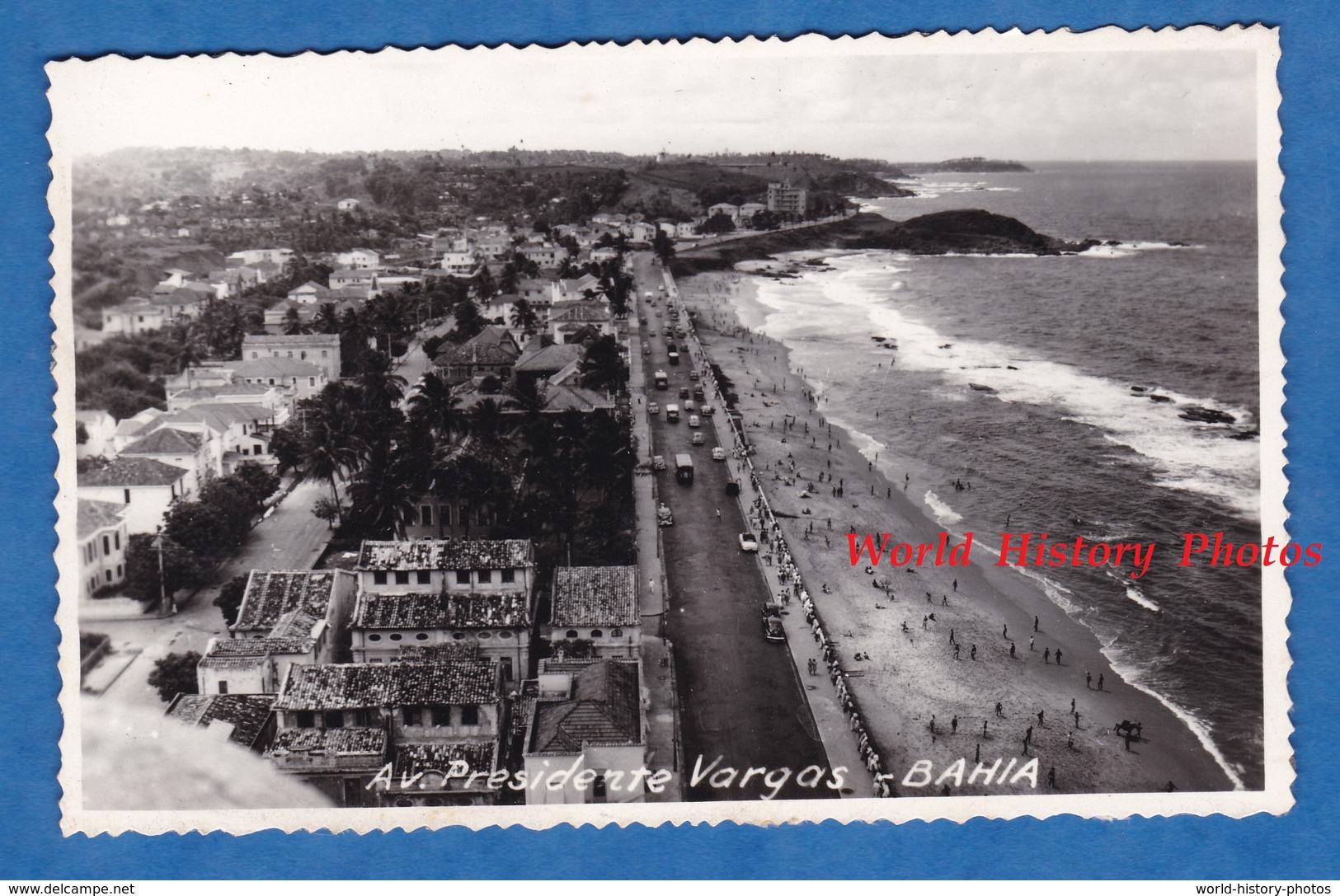 CPA Photo - BAHIA - Avenida Presidente Vargas - Brasil Brésil Salavador Playa Building Architecture - Brésil