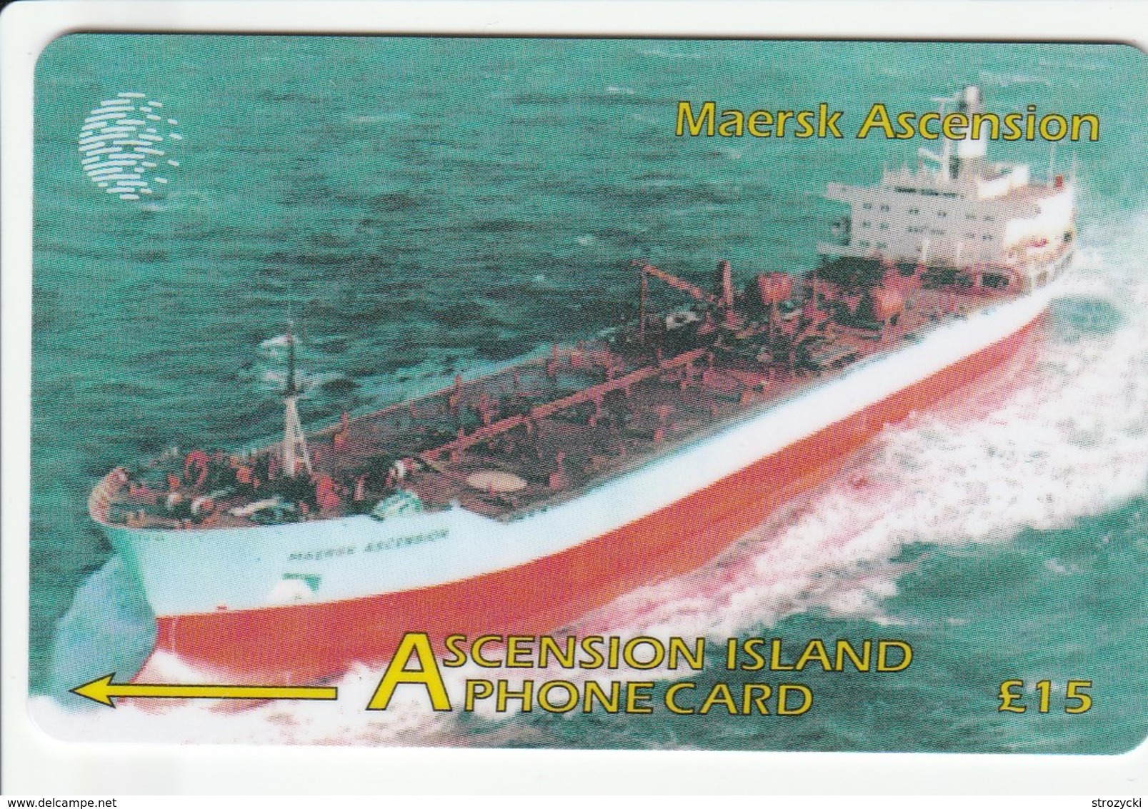 Ascension - Maersk Ascension - 268CASB - Ascension (Insel)